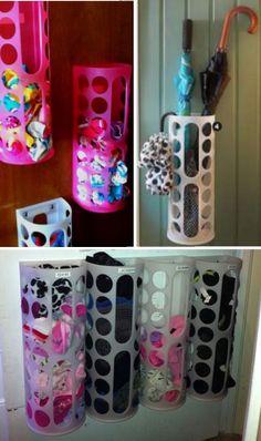 aaab2eaaeaef 35 uses for IKEA s VARIERA plastic bag dispenser - organize panties