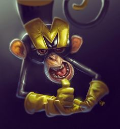 illustration and concepts for...: Dial M for Monkey
