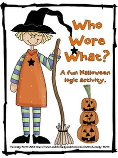 Free! Halloween Logic Puzzle for 4th-9th graders - gonna give it to my high math students for a fun challenge