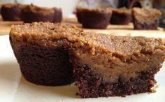 Grain-Free Pumpkin Pie Brownies: Sugar-Free, Vegan, Gluten-Free, Dairy-Free, Low-Fat Recipe