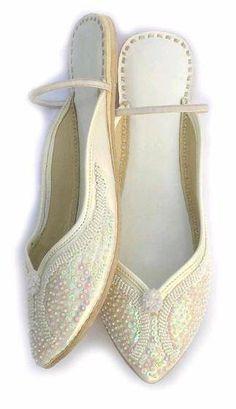 Indian Bridal Ladies Sandal Mule Leather Khussa