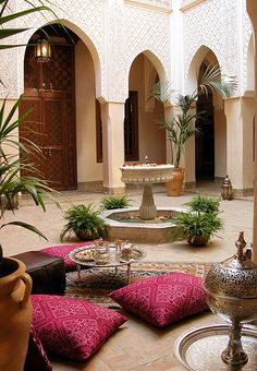 Riad Kniza in Marrakech, an 11-room wonder with three open courtyards and breakfast served on a rooftop terrace.