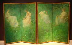 The Four Sylvan Sounds by Thomas Dewing (1896) by Alaskan Dude, via Flickr