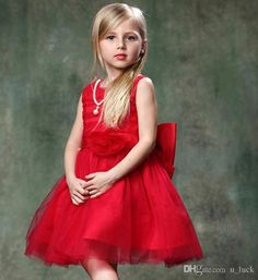 Wholesale 2015 Newest Children Dresses for Girls Kids Party Evening Dresses for Girls Women Girl Pageant Dresses Flower Girls Dance Dresses Zip Bownot from China :$11.52 | DHgate.com#dhgatepin