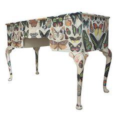 Attirant Butterfly Dressing Table