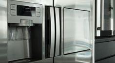 Side By Side Kühlschrank mit Wasserspender