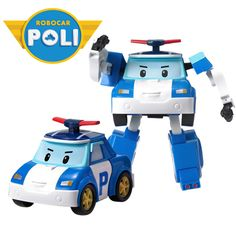 Robocar Poli - Poli, Transformable Robot, Animation, Korean, Transformation / US $18.99