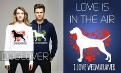 <3 Dog Lover <3 News!!!! Love is in the air... Make a gift to your beloved one, only on Dog Lover - Shop On Line  L'amore è nell'aria…  Regali fatti con il cuore, solo su Dog Lover   http://dog-lover.spreadshirt.it/en/i-love-weimaraner-I117639091