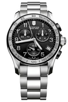01979a4f8a0 Victorinox Swiss Army Watch Chrono Classic 241404 Watch available to buy  online from with free UK delivery.