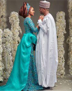 #ZAhmed2016  Via Abuja planners @enchantedeventsng Bride wearing @Hudayya, makeup by @mamzabeauty, backdrop by @bluevelvetmarquee,  @bighstudios