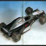 F1 Paper Model - 1998 Version Mercedes McLaren MP4/13 Free Download
