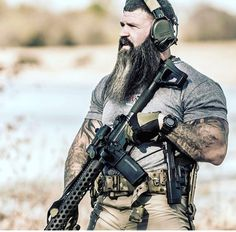 Steven Gern Tactical Beard, Tactical Life, Tactical Operator, Combat Gear, Future Soldier, Police, Military Pictures, Army Love, Tac Gear