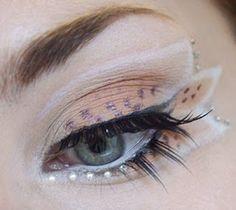 Fairy Eye Makeup - little ball eye makeup