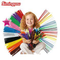 Jumbo PIPE CLEANERS Art Craft Per Bambini Ragazzi creare Decorazione Party Borsa Filler