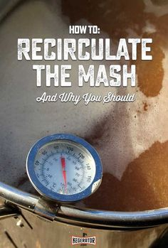 How to Recirculate the Mash (And Why You Should Every Time You Brew Beer) Brewing equipment How to Recirculate the Mash (And Why You Should) Beer Brewing Kits, Brewing Recipes, Homebrew Recipes, Beer Recipes, Beer Brewing Process, Whiskey Recipes, Coffee Recipes, Make Beer At Home, How To Make Beer