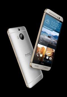 HTC One M9+ features a finger scanner and behavior-detecting software.