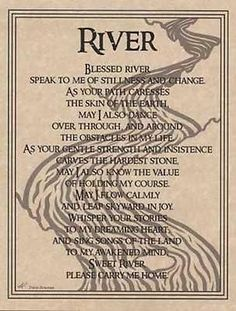 River-Prayer-Parchment-Page-for-Book-of-Shadows-pagan-wicca-witch