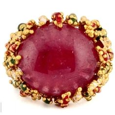 SIZE SIZE 7.5 12.18cts Natural Corundum Ruby 925 Sterling Enamel Ring Jewelry #SolitairewithAccents