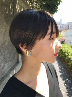 New Hair, Pixie, Asian Girl, Short Hair Styles, Hair Cuts, Hair Beauty, Portrait, Hairstyles, Awesome