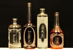 Reclamation Etchworks Creates Modern Spirit Decanters From Rec...