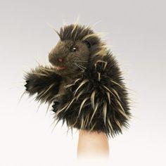 Little Porcupine Puppet  |  Folkmanis $12.99