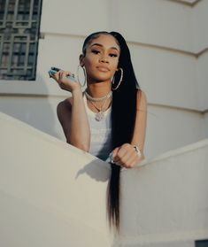 Black Hair Inspiration, Icy Girl, Cute Black Couples, Girl Outfits, Cute Outfits, Girl Artist, Star Wars, Black Girl Aesthetic, Doja Cat