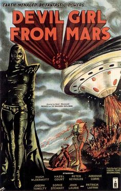 Devil Girl From #Mars.1954 #scifi #sciencefiction
