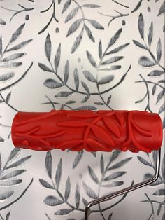 Artsy Leaf Pattern - Decorative Patterned Paint Roller Source by etsy Painting Studio, Diy Painting, Patterned Paint Rollers, Paint Brands, Leaf Art, Wall Treatments, Painting Techniques, Diy Wall, Art Decor