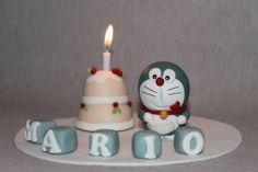 - Topo de bolo Doraemon