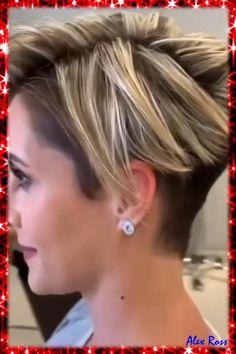 Short Hair Undercut, Thin Hair Haircuts, Haircut For Thick Hair, Cute Hairstyles For Short Hair, Pixie Mohawk, Short Womens Hairstyles, Long Pixie Haircuts, Pixie Cut With Undercut, Girls Pixie Haircut