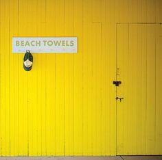 Yellow Beach decor by Carl Christensen