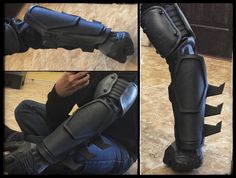 Custom set of Batman Gauntlets. Based off the Arkham Origins game model. These…