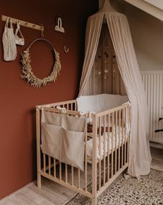 Baby Nursery Decor, Baby Bedroom, Girl Nursery, Kids Bedroom, Nursery Design, Baby Decor, Hippie Baby, Nursery Inspiration, Baby Boy Nurseries