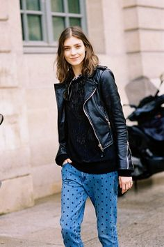 Kati Nescher leather jacket - Google Search