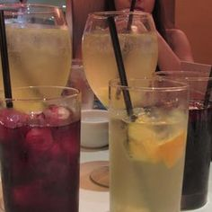 Calle Ocho is the best brunch place I've tried. Eight kinds of sangria free with any entree (all of which are delicious--food and drink alike).
