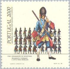 Sello: Uniformen (Portugal) (Uniformen) Mi:PT 1645A,Sn:PT 1613,Afi:PT 1683