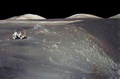 n-a-s-a:    Apollo 17 at Shorty Crater    Image Credit: Apollo 17 Crew, NASA