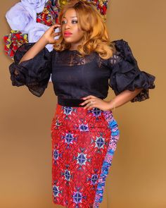 Definitely a WAWUUUUUUU! This lady was made to slay Ankara! Are we ready to shop till drop? African Fashion Ankara, African Print Fashion, Africa Fashion, African Wear, African Women, African Attire, African Beauty, African Print Dress Designs, African Print Dresses