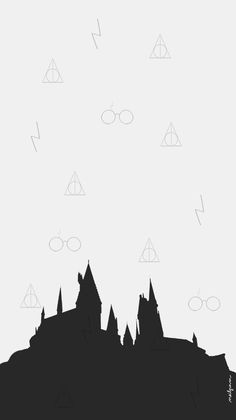 Image about wallpaper in patterns / backgrounds by Just_Belle Arte Do Harry Potter, Harry Potter Drawings, Harry Potter Tumblr, Harry Potter Quotes, Harry Potter Love, Harry Potter Universal, Harry Potter Hogwarts, Harry Potter World, Wallpaper Computer