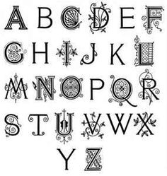 Content Themes Chaoticsoul Fancy Calligraphy Alphabet Letters I5jpg