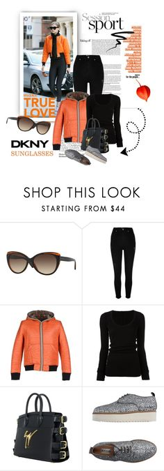 """Best Trend of 2016"" by lacas ❤ liked on Polyvore featuring DKNY, River Island, Shockly, DRKSHDW, Giuseppe Zanotti, ATOS Atos Lombardini, Too Faced Cosmetics, sunglasses, smartbuyglasses and besttrend2016"