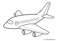Printable Airplane Coloring Pages - Free Coloring Sheets Airplane Coloring Pages, Online Coloring Pages, Coloring Pages For Boys, Cartoon Coloring Pages, Coloring Pages To Print, Free Printable Coloring Pages, Colouring Pages, Free Coloring, Coloring Sheets