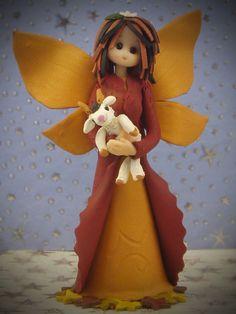Capricorn fairy by fairiesbynuria on Etsy, $45.50