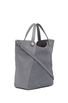 Halston Heritage - Suede & Leather Bucket Tote is now 62% off. Free Shipping on orders over $100.