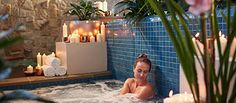 Refresh the spirit, Remedy the soul and Replenish the senses. The Spa offers body treatments, massages, facials and more.