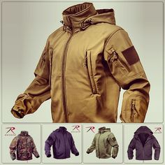 Rothco Spec Ops Tactical Soft Shell Jacket
