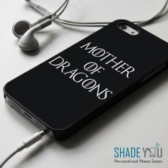 Mother of Dragons - The Game of Thrones iPhone 4/4S, iPhone 5/5S/5C, iPhone 6 Case, Samsung Galaxy S4/S5/S6 Edge Cases - Shadeyou - Personalized iPhone and Samsung Cases