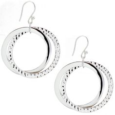 HandPicked: Connected Circle Earrings