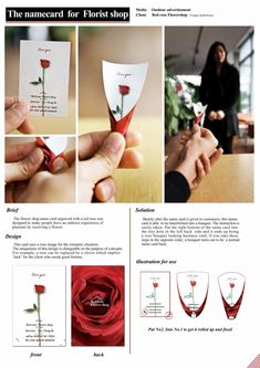 Flowers Shop Business Card Ideas For 2019 Flower Shop Names, Web Design, Design Cars, Flower Shop Design, Florist Logo, Visiting Card Design, Name Card Design, Bussiness Card, Red Rose Flower