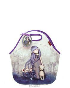 Neoprene Lunch Bag - Dear Alice, Santoro's Gorjuss